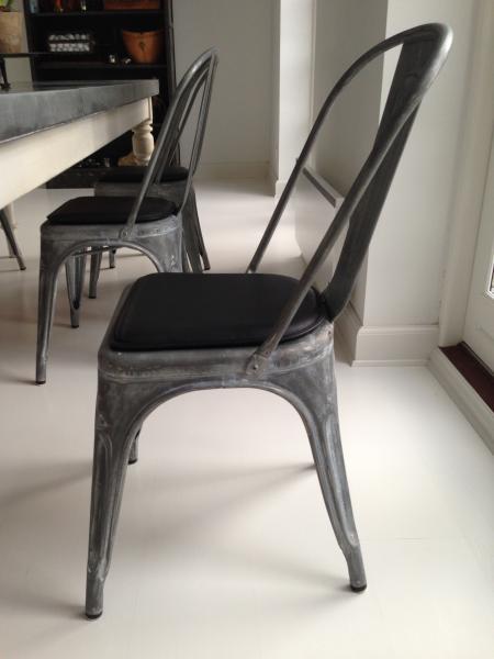 Fra mega Læderhynde Tolix stol, A serien - Xavier Pauchard EK-12